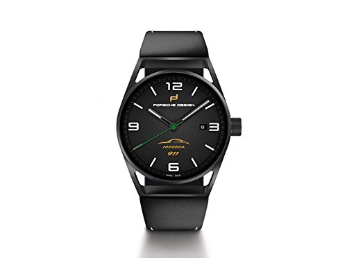 Porsche Design 1919 Automatic Watch, Titanium, Black, 6020.3.02.301.07.2