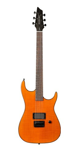 Godin Redline 1 Electric Guitar (Trans Amber Flame RN)