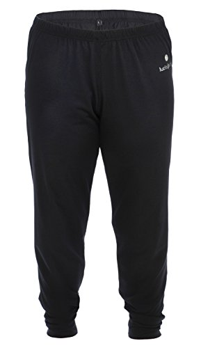 Review Lucky Bums Kid's Base Layer Long Sleeve Crewneck and Pants Set, Small