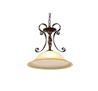 Lámpara de techo-proyector-lámpara Colgante de hierro forjado ...
