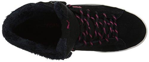 Puma Women's Vikky Mid Corduroy Sneaker Puma Black-puma Black P0x7kfx