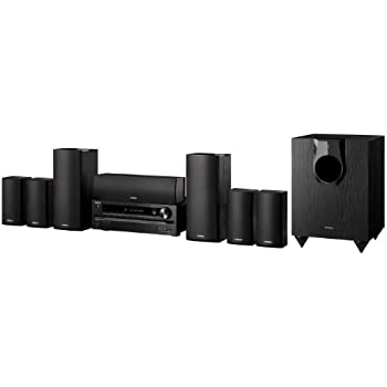 Onkyo HT-S5500 7.1-Channel Home Theater Speaker/Receiver Package (Discontinued by Manufacturer)