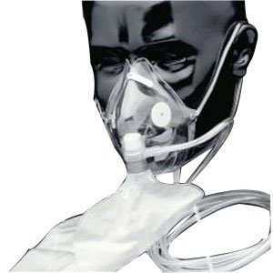 Salter Adult Oxygen Mask With Soft Anatomical Form Each (SA8130)