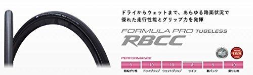 IRC【アイアールシー】 FORMULA PRO TUBELESS RBCC【フォーミュラプロ チューブレス RBCC】 ロードバイク用チューブレスタイヤ 2本セット +Zitensyadepoステッカー B01GTN6WTE700×25C