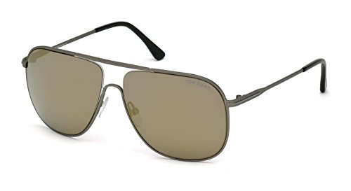 Tom+Ford+Sunglasses+TF+451+Dominic+09C+Silver+60mm