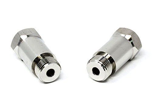 (CARXX CEL Fix Check Engine Light Eliminator Adapter - Universal Sensor Stainless Steel (Pack of 2))