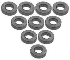 3Racing #3RAC-WF315//TI Aluminium M3 Flat Washer 1.5mm 10 Pcs Titanium for 3Racing All