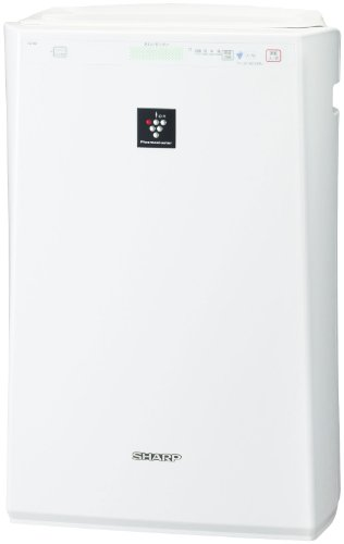 SHARP Air Cleaner 24mats High concentrating Plusmacluster 7000 White FU-B51-W (Japan Import) by SHARP