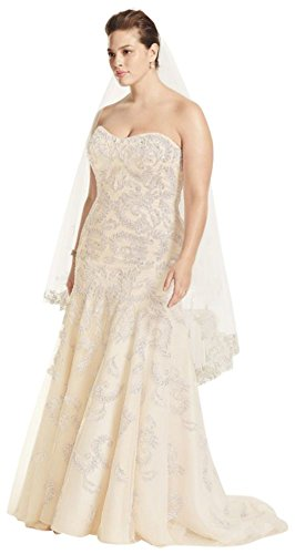 Tulle-Plus-Size-Oleg-Cassini-Lace-Trumpet-Beaded-Wedding-Dress-Style-8CMB619
