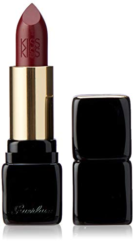 Guerlain Kiss-Kiss Shaping Cream Lip Color Lipstick for Women, No. 362 Cherry Pink, 0.12 Ounce