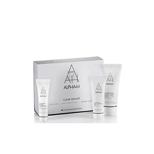アルファ-クリアな肌のコレクション(3製品) x4 - Alpha-H Clear Skin Collection (3 Products) (Pack of 4) [並行輸入品] B071KWKWDD