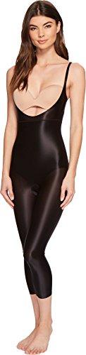 - SPANX Women's Suit Your Fancy Open-Bust Catsuit Very Black Medium