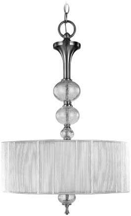 World Imports 8233-37 Bayonne Collection 3-Light Hanging Inverted Pendant