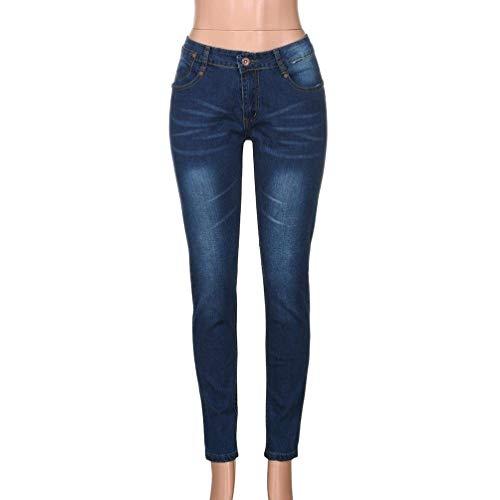 Jeans Matita Slim Uomo R Especial Skinny Dunkelblau Fit Dritti A Stretch Pantaloni Estilo wqZp6