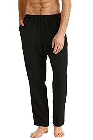 Champion Men's Clothing Infinity Microfibre Track Pant, Black, S