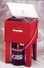 - Graymills Parts Washer, Solvent, 5 Gal, Length 24 In - H42RN