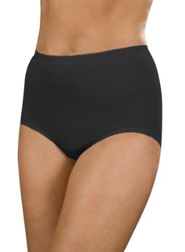 La Marquise Women's 3 Pack Of Wos/Lingerie/Underwear Lace Comforts Maxi Briefs 18 Black