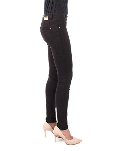 ceñido ajuste tejido Negro extensible normal 767 para cintura Jeans Carrera mujer Jeans w48cX0