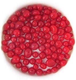 Red Opal Frit Balls FB0124 COE 90 Glacial Art Glass