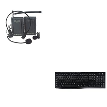 kitapls1601log920003051 – Value Kit – Amplivox Kit de auriculares y micrófono de solapa inalámbrico (apls1601