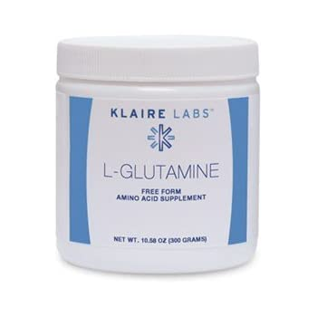 Klaire Labs L-Glutamine Powder, 300 Gram