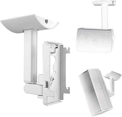 Cvery Wandhalterung Für Deckenhalterung Für Bose Ub 20ii Lautsprecher Halterung Aus Stahl Platzsparend Mit Befestigungselementen Für Audiosysteme Von Heimkino Elektronik