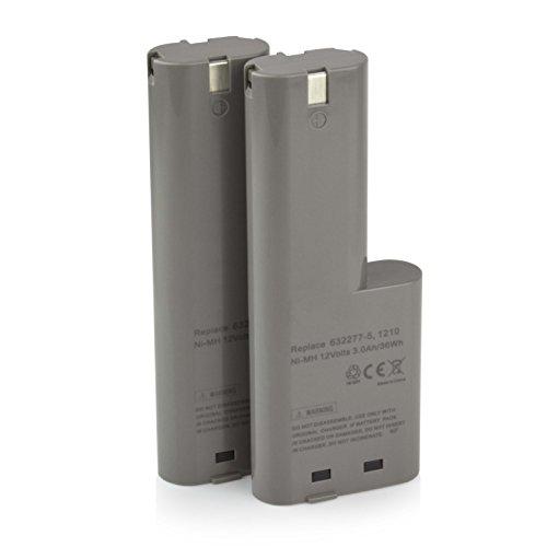 2 x ExpertPower 12v 3000mAh NiMh Extended Battery for Makita 1210 632277-5 5092D 5092DW 6011D 6011DW 809432 -  I0IBTPMK1210H