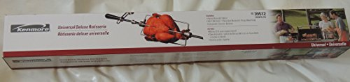 "Kenmore Universal Deluxe Rotisserie Kit 35.5"" 5039512 Sears"