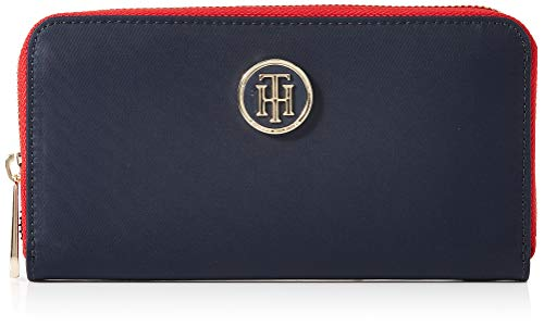 Tommy Hilfiger Womens Poppy Lrg Za Wallet Wallet Blue (Tommy Navy)