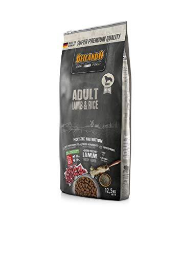 Belcando Adult Lamb & Rice [12,5 kg] Hundefutter   Trockenfutter mit Lamm für empfindliche Hunde   Alleinfuttermittel…