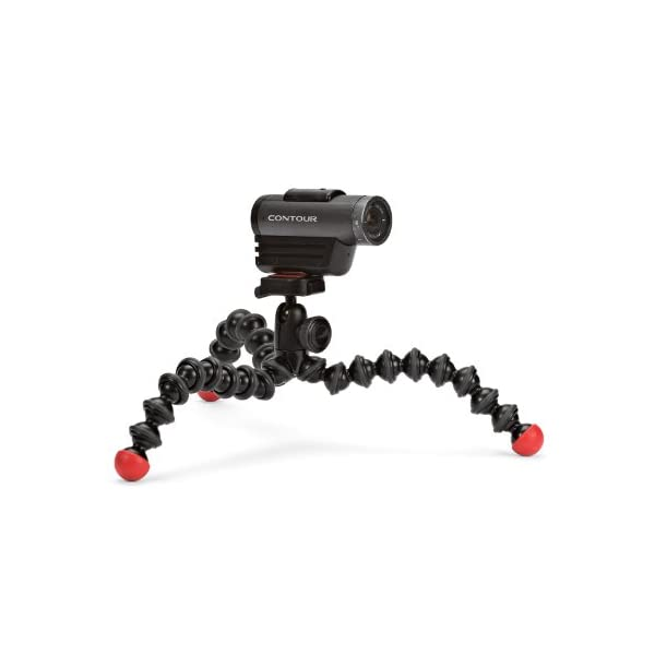 RetinaPix Joby GorillaPod Action Tripod, Black/Red, One Size