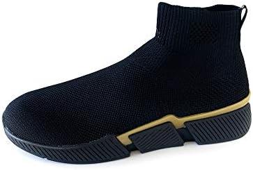 Zara Men Sock-style high-top sneakers