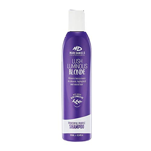 Powerful Purple Toning Shampoo, Sulfate Free Tones, Prevents,