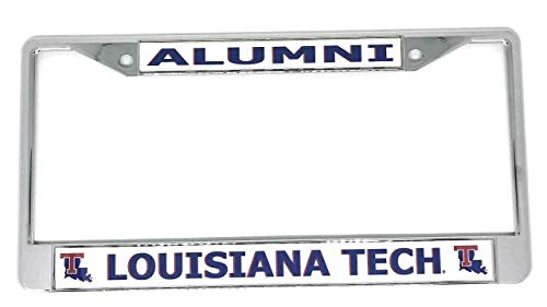 Louisiana Tech University Alumni Chrome License Plate Frame ()