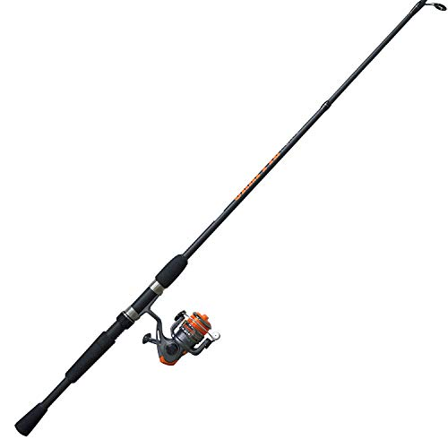 Zebco CRFUL562ULA.NS4 Crappie Fighter Spinning Combo, 4.3: 1 Gear Ratio, 1 Bearing, 5'6' 2pc Rod, 2-6 lb Line Rate, Ambidextrous