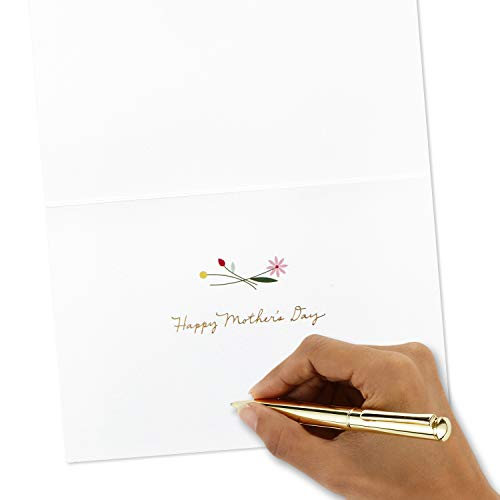 Hallmark Signature Mothers Day Card (Quilled Flowers, Couldn't Have Picked a Better Mom) by Hallmark (Image #4)