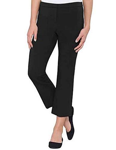 Max & Mia Ladies' Capri Dress Pant, Variety (L, - Capris Dress Black