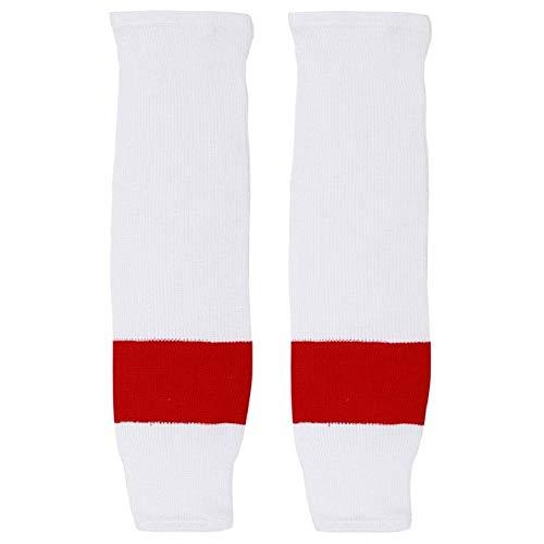 Trenway Pro Style Rib-Knit Ice Hockey Hose Socks (Pair) Youth Child Size, 20-22