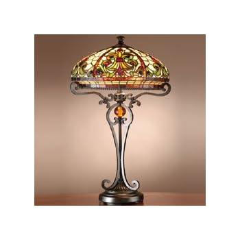 dale tiffany tt101114 boehme table lamp antique golden sand