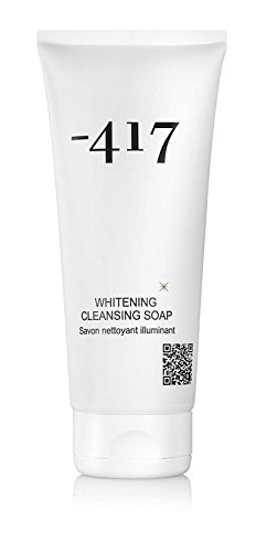 -417 Dead Sea Cosmetics Facial Wash with Kojic Acid - Natural Skin Lightening, Whitening Cleansing Soap for Face Cleansing Remedy for Freckles, Acne (Facial Lightening)