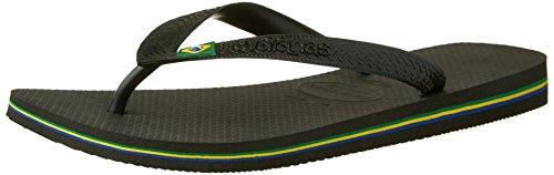 Unisex Black para Negro Adulto 0090 Havaianas Chanclas Brasil YEqw1At