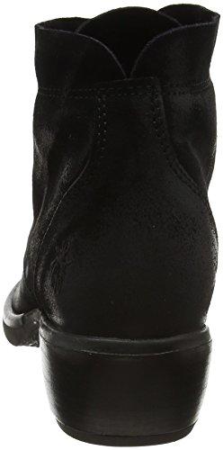 London Femme FLY Noir Bottes Black Mesu780fly S14xB4n