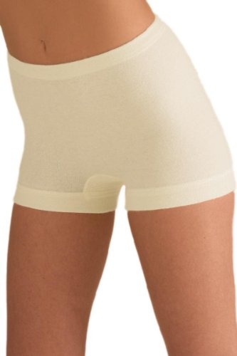 Sangora Women's Thermal Shorts of Angora Wool 8050880 Natural White L