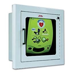 Zoll Surface Mount Wall Cabinet for AED Plus Defibrillator w/ Alarm