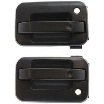 Plastic Passenger Side Door Handle For F-150 04-14 Front Black
