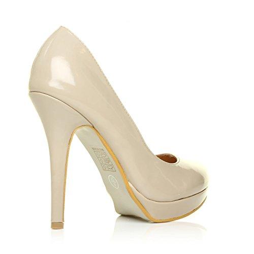Plateforme Chaussures hauts EVE à Beige talons 8ACYqwz