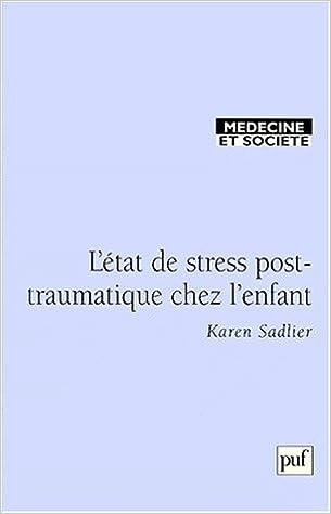 Livre gratuits Le stress post-traumatique chez l'enfant epub pdf