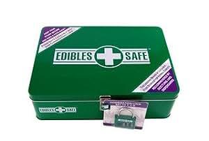 Amazon.com: Edibles Safe - Lockable Food Storage Box for