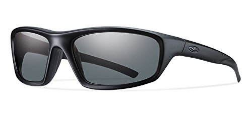 Smith Optics Director Tactical Sunglass with Black Frame (Polarized Gray - Polarized Tactical Sunglasses