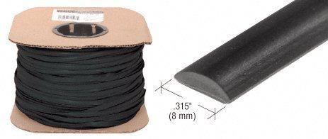 Cr Laurence 315 Black Flat Screen Spline - 500 ft Roll by...